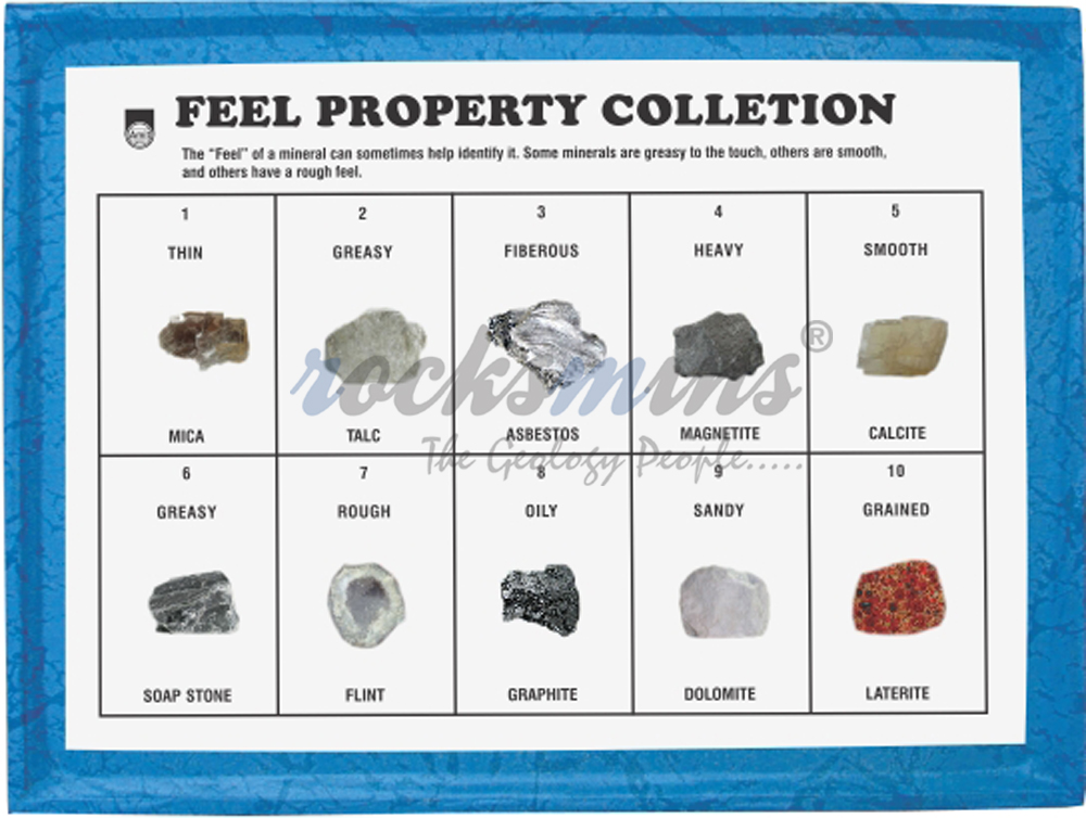 Minerals Feel Property Collection Rocksmins