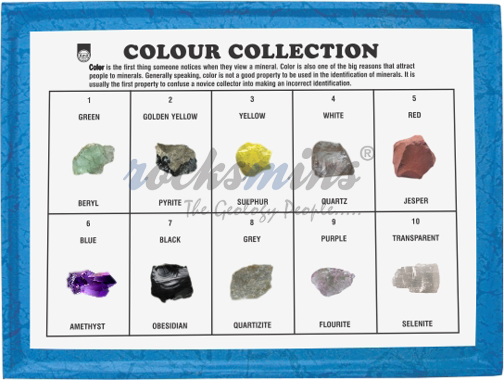 Minerals Colour Collection Rocksmins